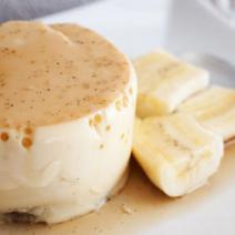 Бананово-ванильный пудинг Кастард, пудинг, бананово-ванильный, ванильный, ванильный пудинг