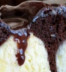 Шоколадный пирог, Шоколадный пирог с творожными шариками, творожные шарики, шарики, пирог